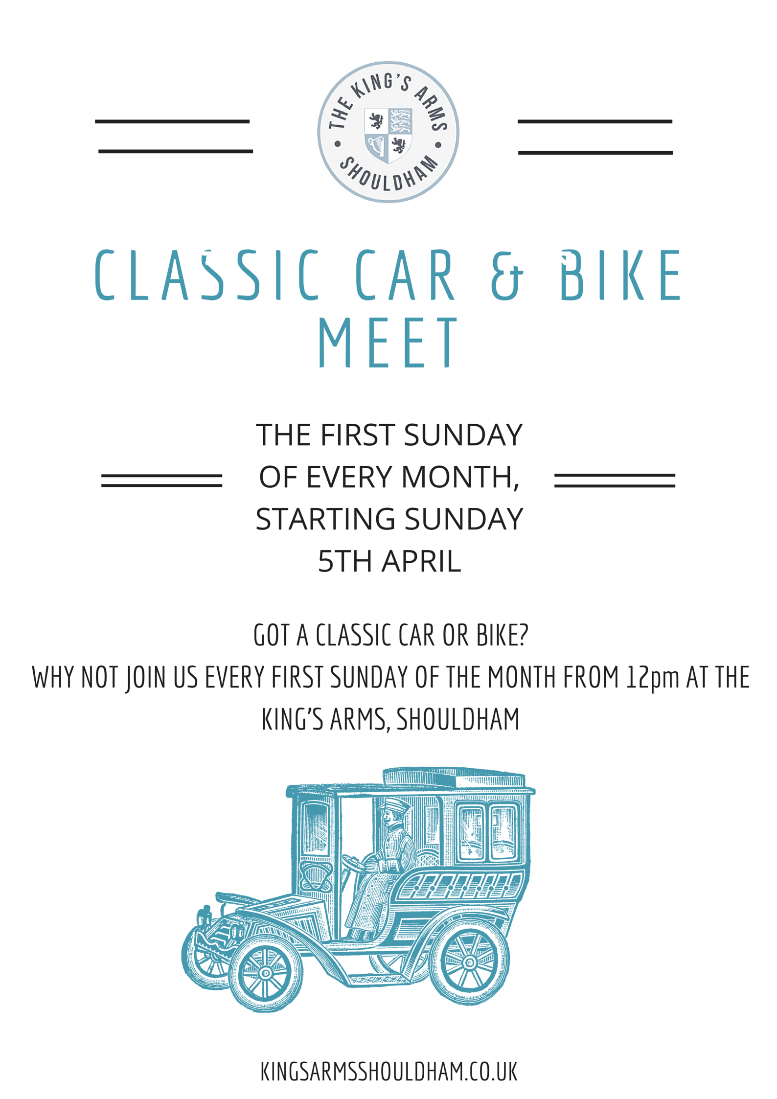 Classic Car And Bike Meet Kings Arms Shouldham