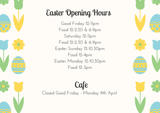 opening hours easter